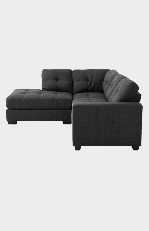 Image Pour Sofa Sectionnel En Tissu Gris