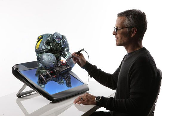Zspace Virtual Holographic Display Tool For Designers