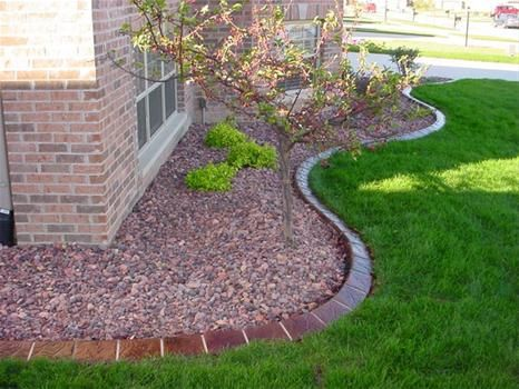 Landscaping Designs With Gravel And Grass Google Search 400 x 300