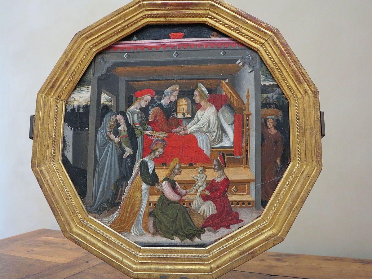 C Menico Di Bartolo Birth Of The John The Baptist