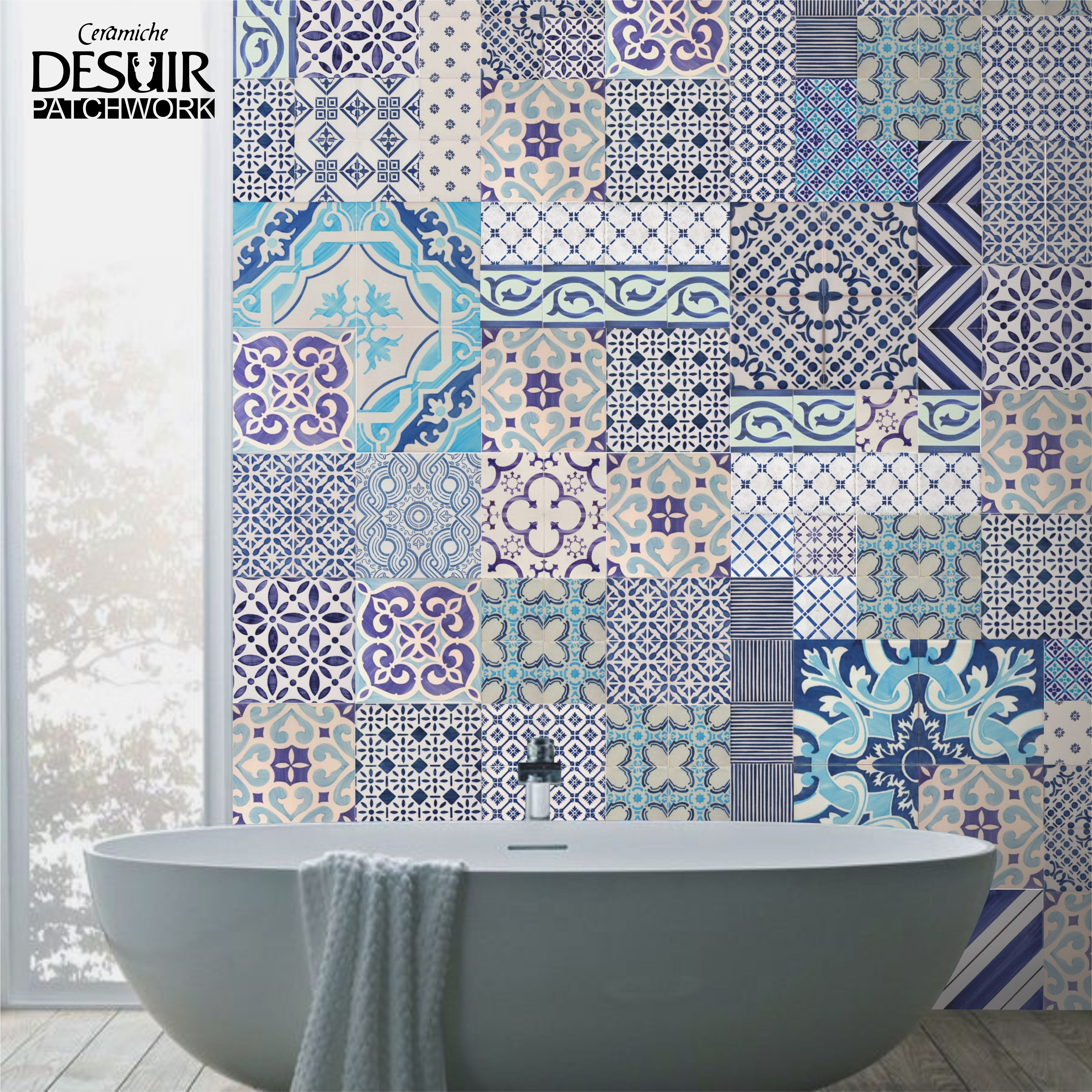 Stencil piastrelle bagno finest cucina con piastrelle for Stencil per piastrelle bagno