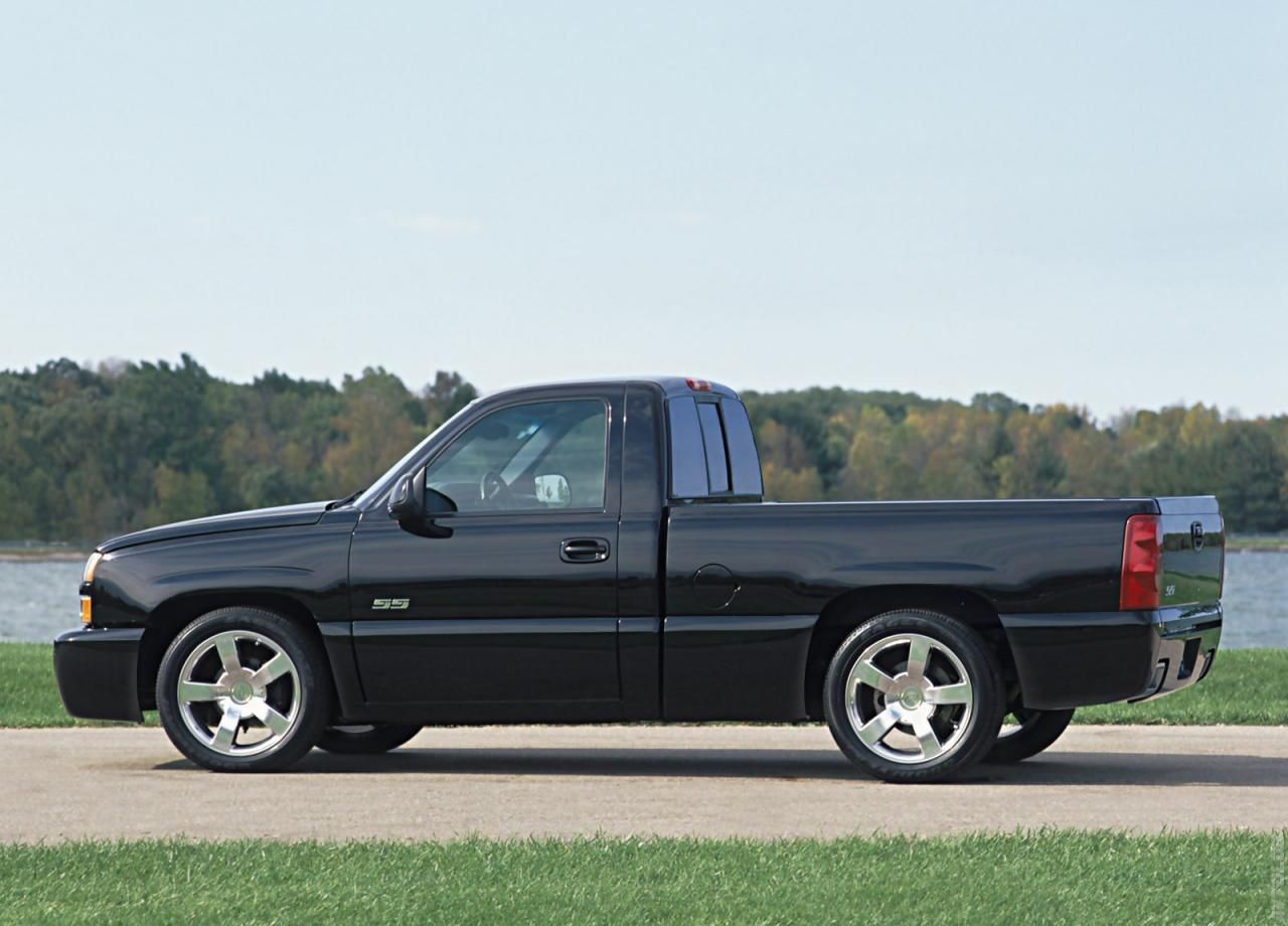 All Types single cab silverado ss : 2003 Chevrolet Silverado SS | Chevrolet | Pinterest | Chevrolet ...