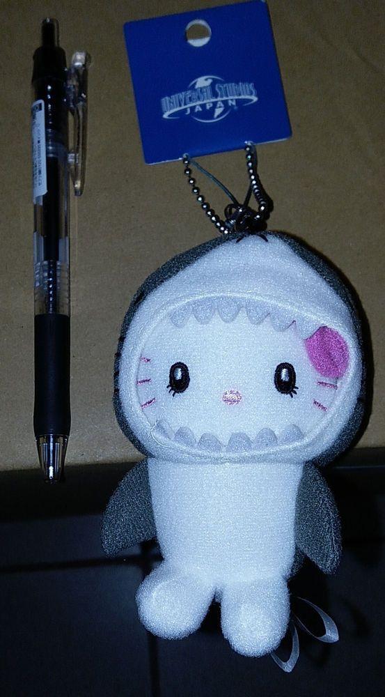 b4955e40b Universal Studios Japan USJ Limited Hello Kitty x JAWS 10cm Plush Doll