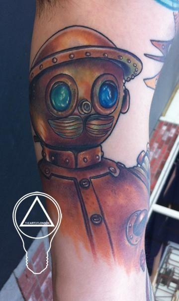 Tiktok Tattoo Steps: Return To Oz Tattoo! Artist: London Reese...Haha