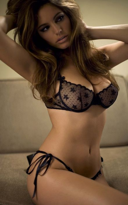 Apologise, but, Kelly brook black lingerie remarkable, the