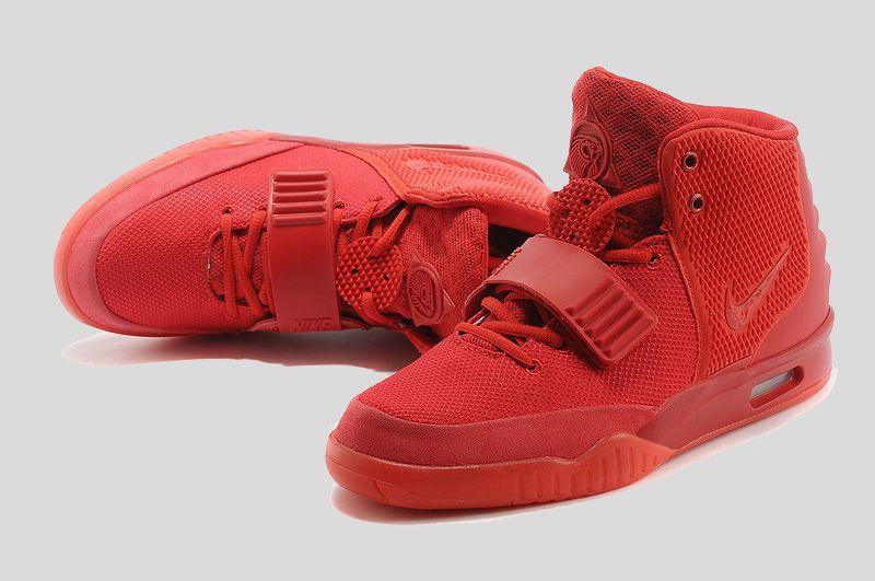 best sneakers 3d8ae 5d018 Glow in the Dark Nike Air Yeezy 2  Red October    New Yeezys 2017