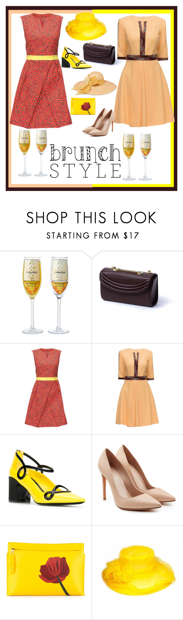 """Untitled #317"" by sabrepinkt ❤ liked on Polyvore featuring Lauren Cecchi, Lattori, Fabrizio Viti, Alexander McQueen, Loewe and Sensi Studio"
