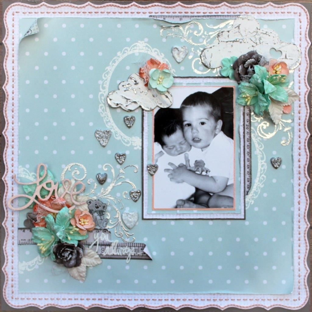 C70 Royal Baby by Tina. Fabscraps