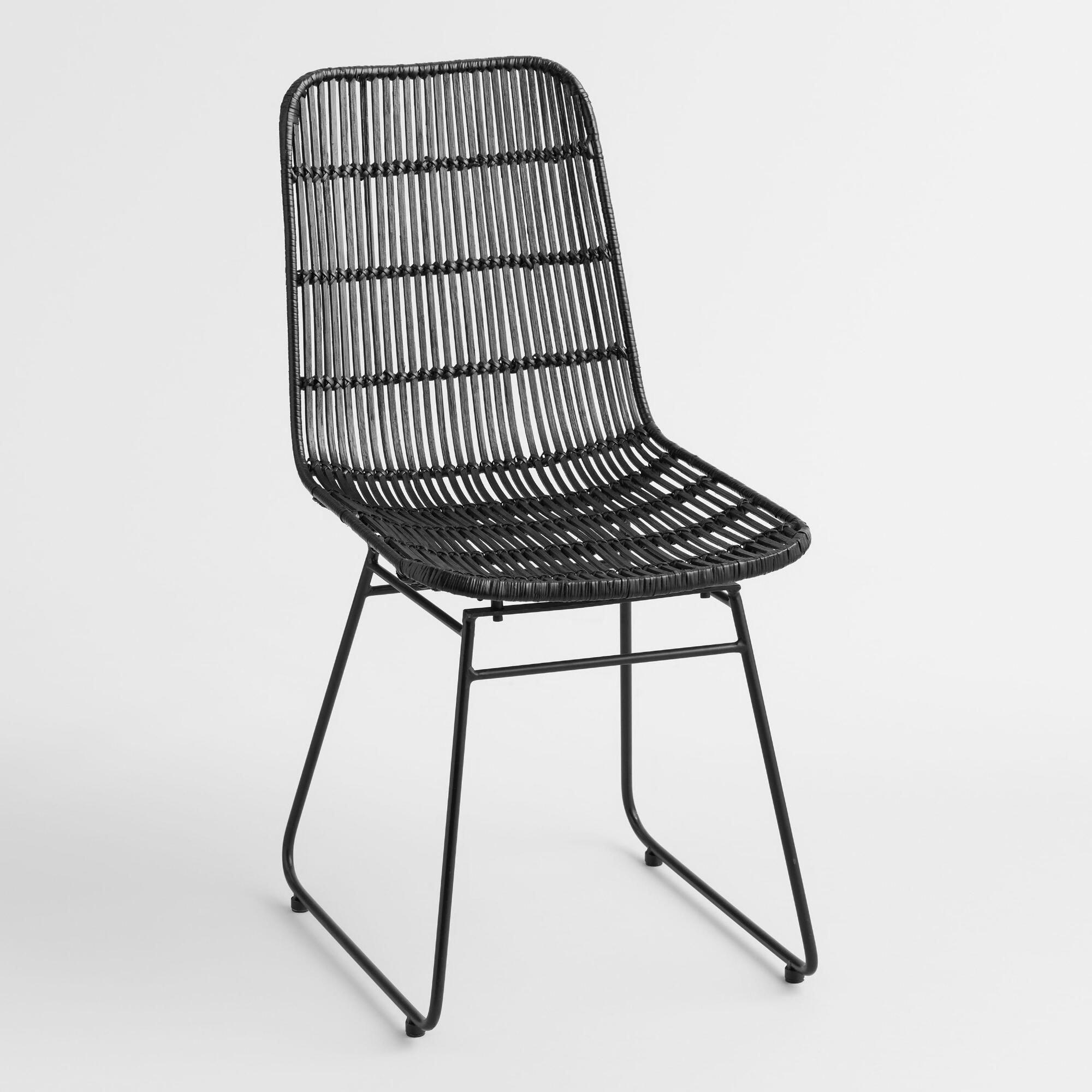 Black Wicker Emily Chair By World Market Worldmarketchair Chair
