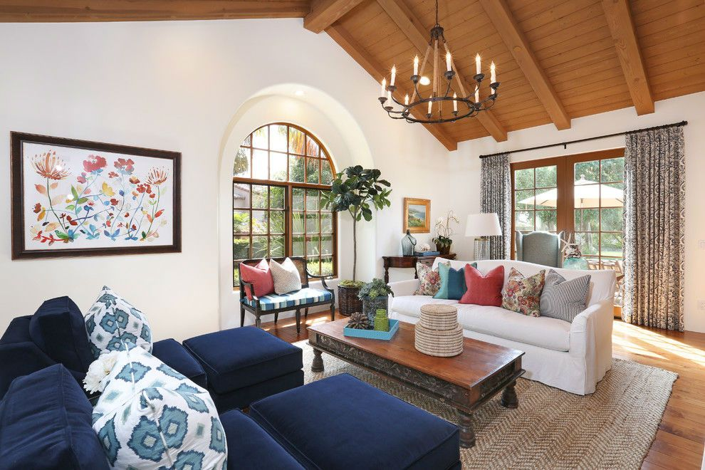 Rancho Santa Fe by Blackband Design | Интерьер, Дом, Гостиная