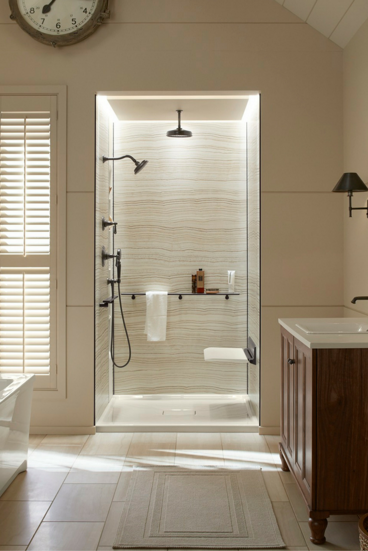 4 Sure-Fire Strategies for Shower Walls which Last | bath remodel ...