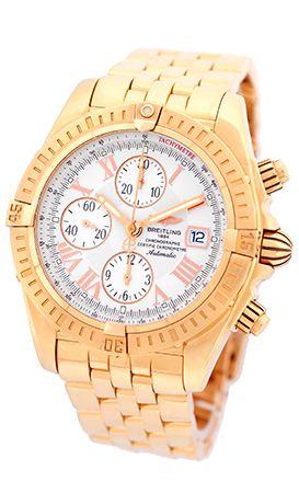 Breitling Chronomat Evolution H13356 Rose Gold Watch Breitling Chronomat Evolution Breitling Chronomat Breitling