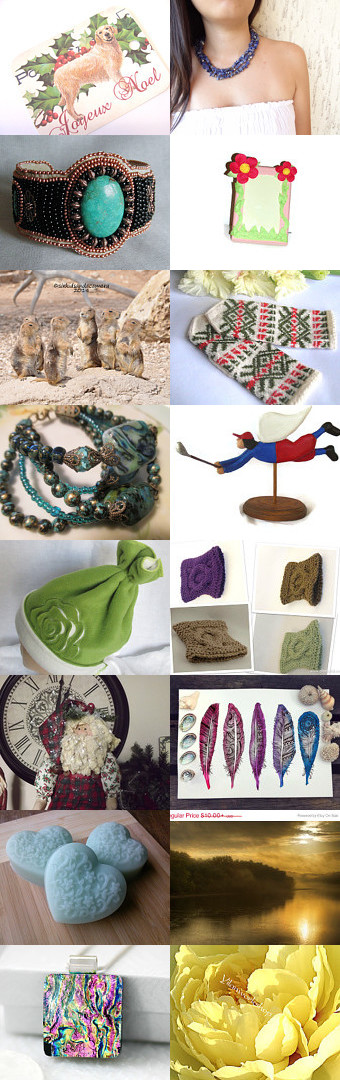 With a Little Help From my Friends. by Nancy on Etsy--Pinned with TreasuryPin.com #decemberfinds
