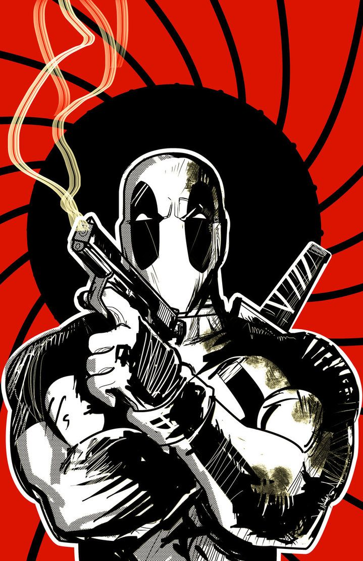 DEADPOOL Cartoon wallpaper iphone, Deadpool, Marvel deadpool