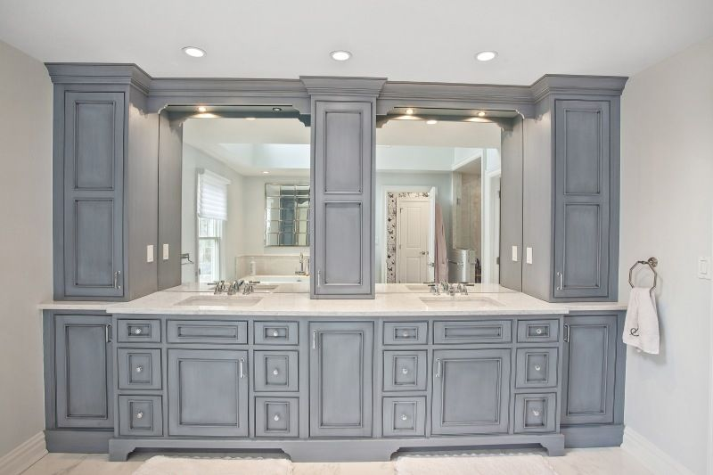 Bathrooms Center Island Contracting Farmhouse Master Bathroom Bathroom Design Bathrooms Remodel
