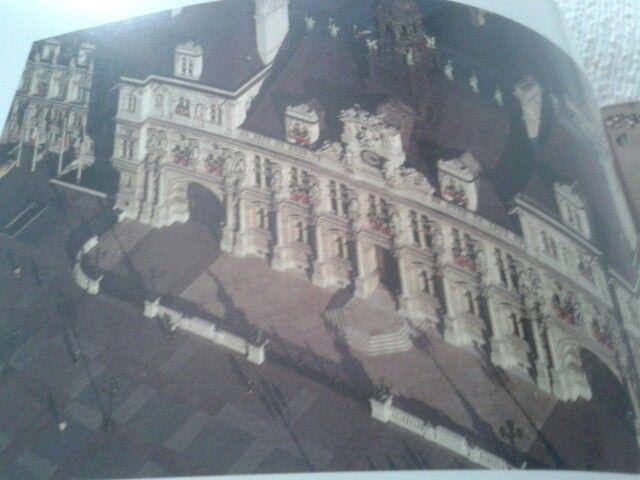 Hotel de ville of Paris