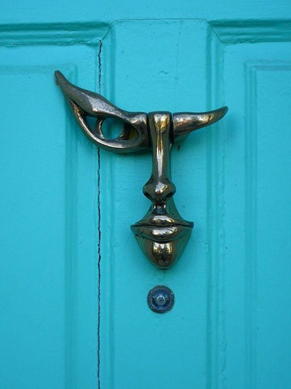 25 Creative Door Knockers | Doors, Creative and Door knobs