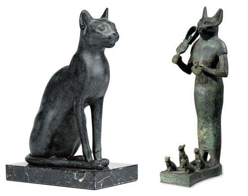 Mito De Bastet Diosa Gata Egipcia Mitologia Egipcia Gatos