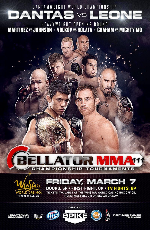 Bellator Mma 111 Results Mma Mma Fighting Ufc