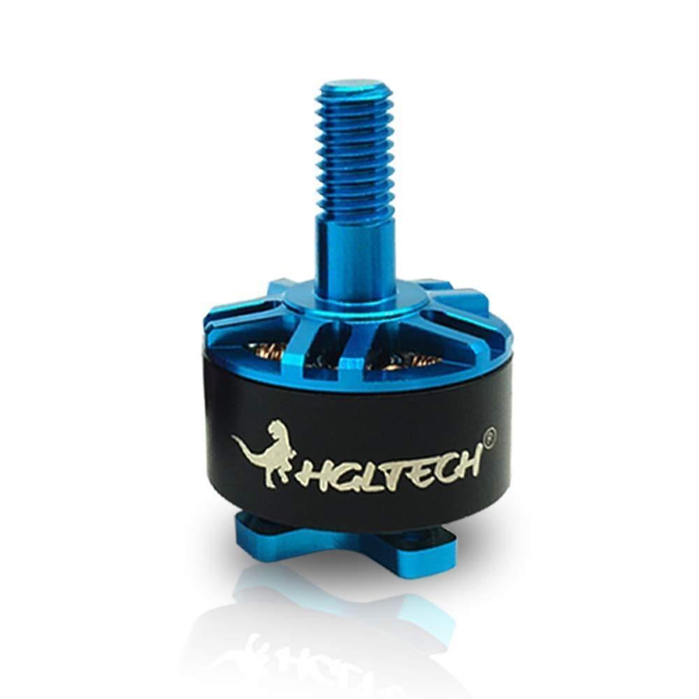 3ea789dc543790 1-4pcs HGLRC Flame 1407 Brushless Motor 3600KV 3-4S Purple Blue For Drone  Quad
