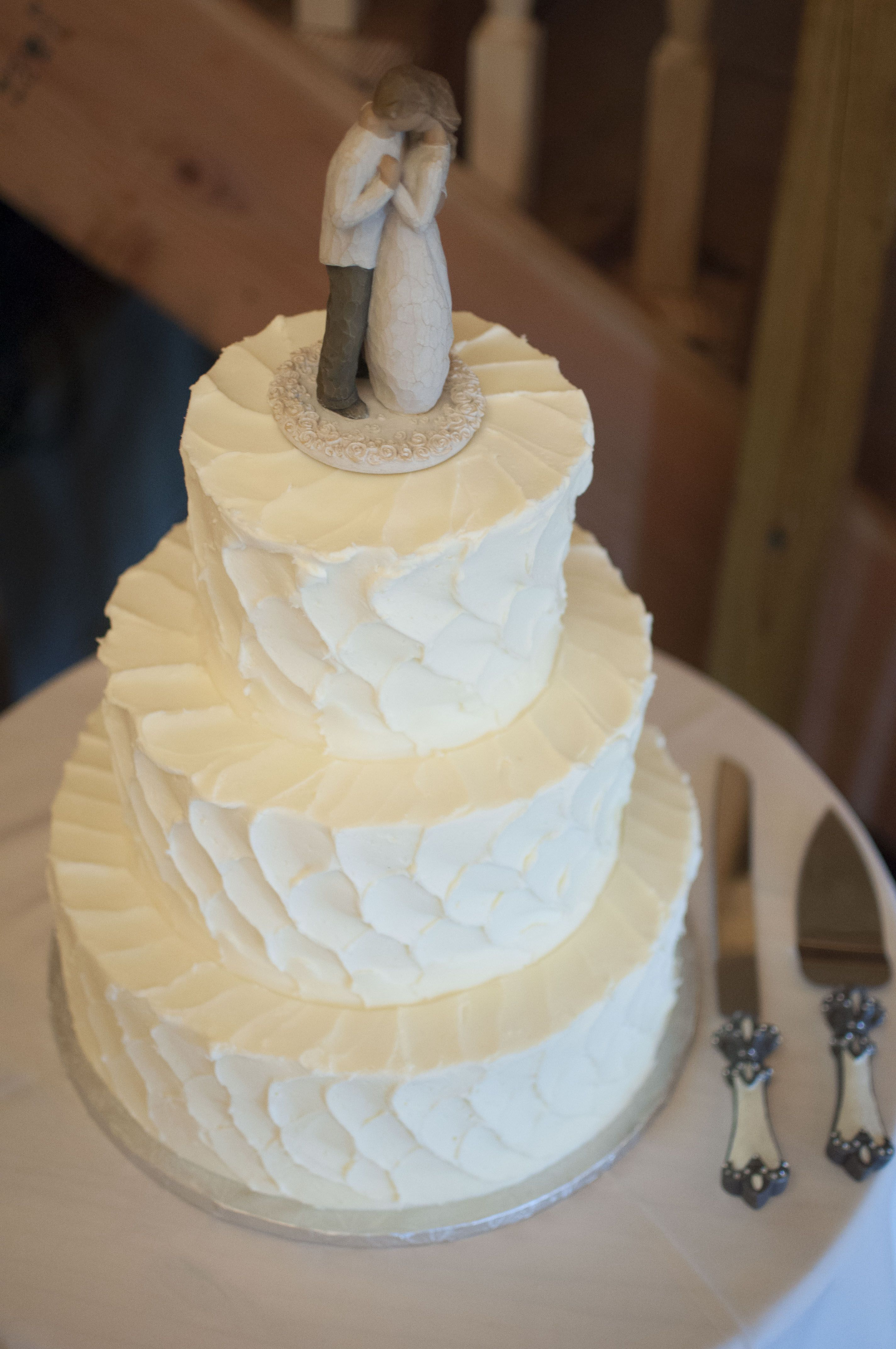 Funky Simple Country Wedding Cakes Ensign - The Wedding Ideas ...