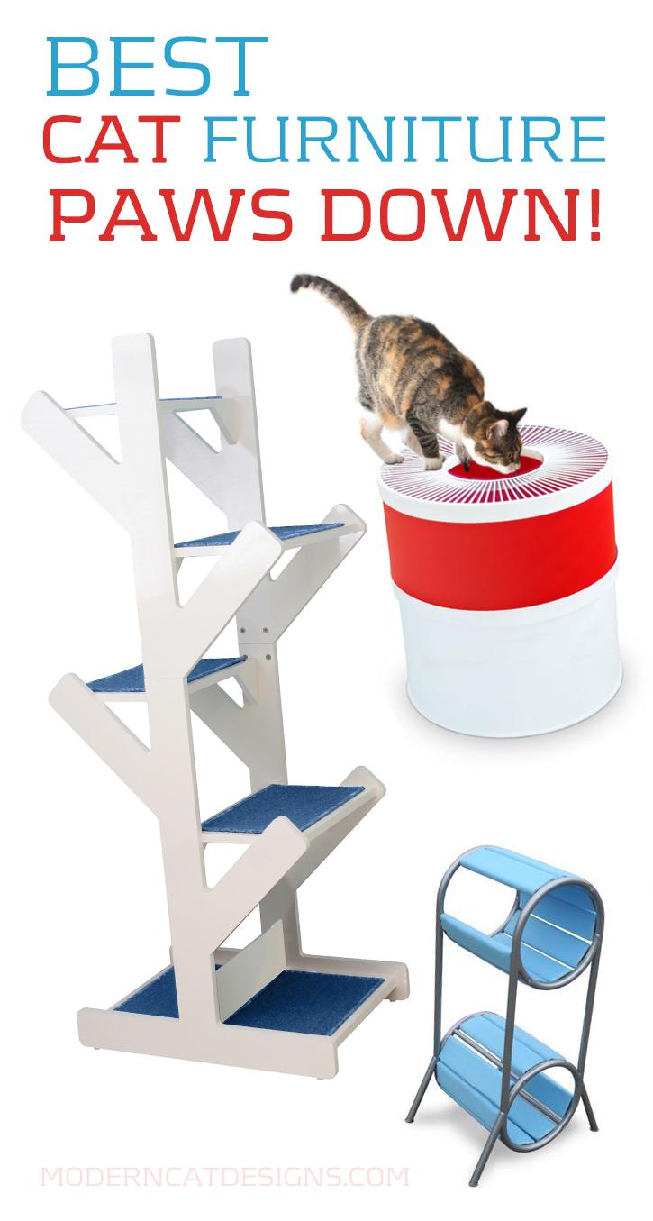 Best Cat Furniture Paws Down Cat Accessories Modern Cat Cat Furniture