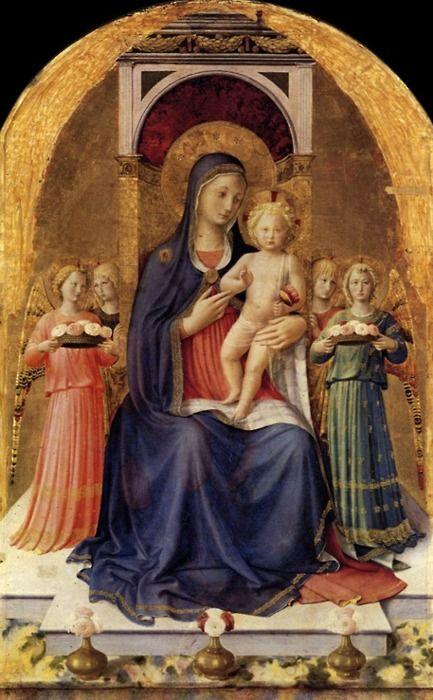 Fra Angelico ~ Guidalotti Altarpiece (central panel), c.1437