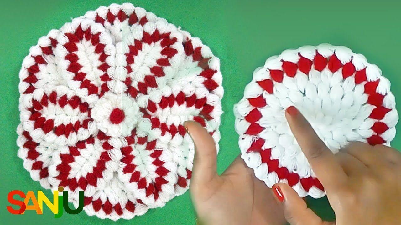Crochet | Crosia | Krosha Thali posh with 6 pattern | crochet ...