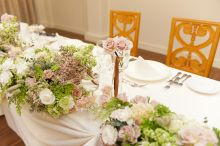 model Kaede wedding flower