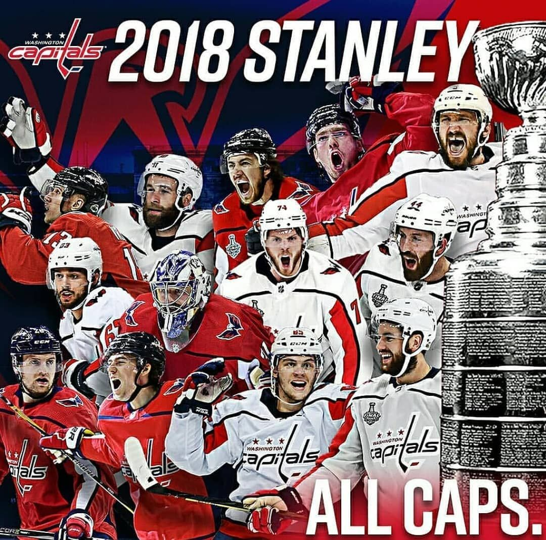 the best attitude 7d8d6 eafb6 Congrats to the #WashingtonCapitals on winning the ...