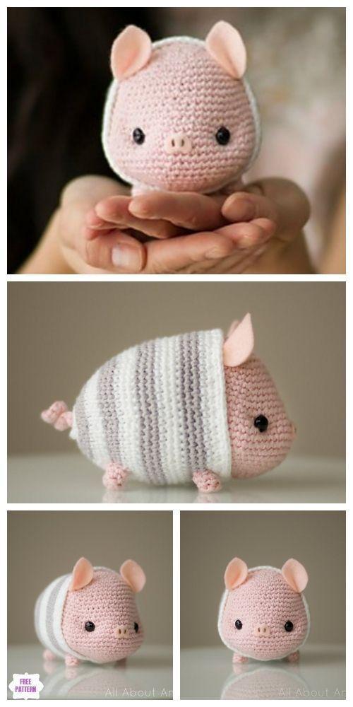 chinesisches neujahr schwein amigurumi free pattern haekeln #amigurumifreepattern