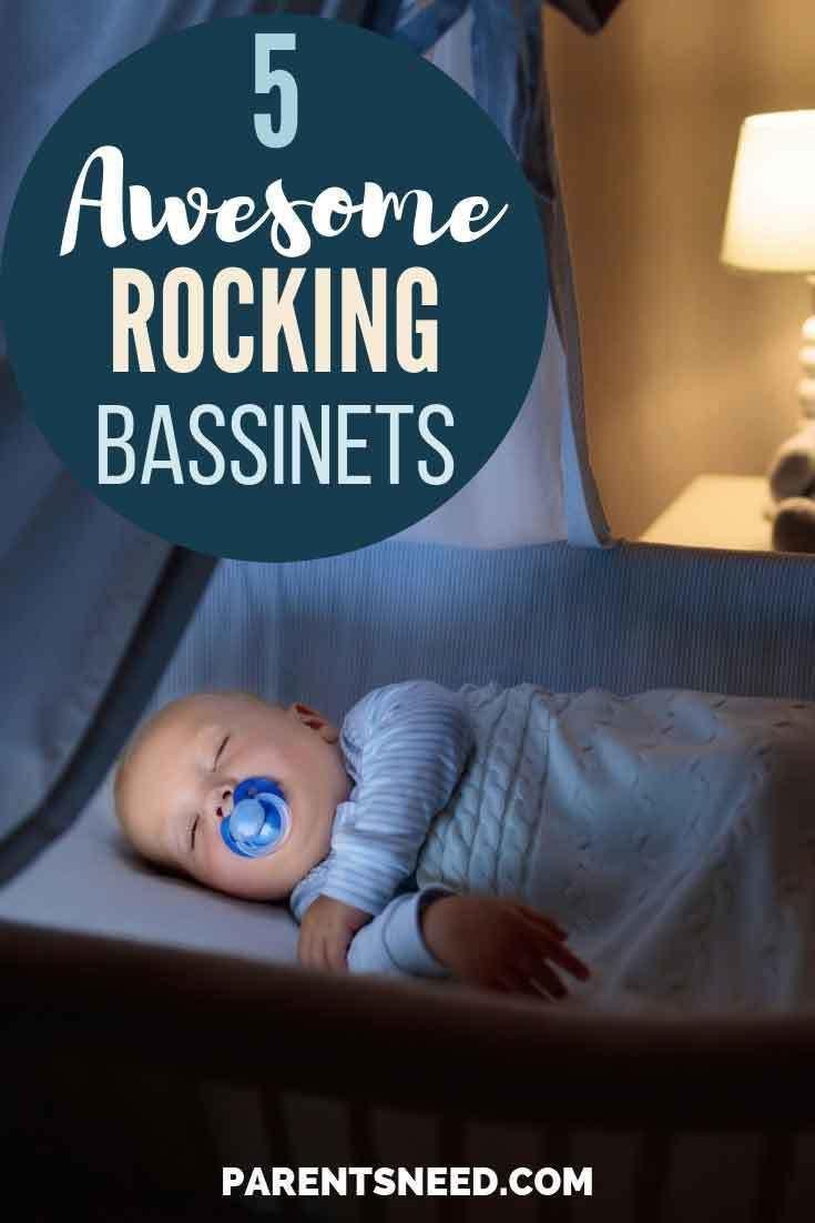 Top 5 Best Rocking Bassinets   Rocking bassinet Baby ...