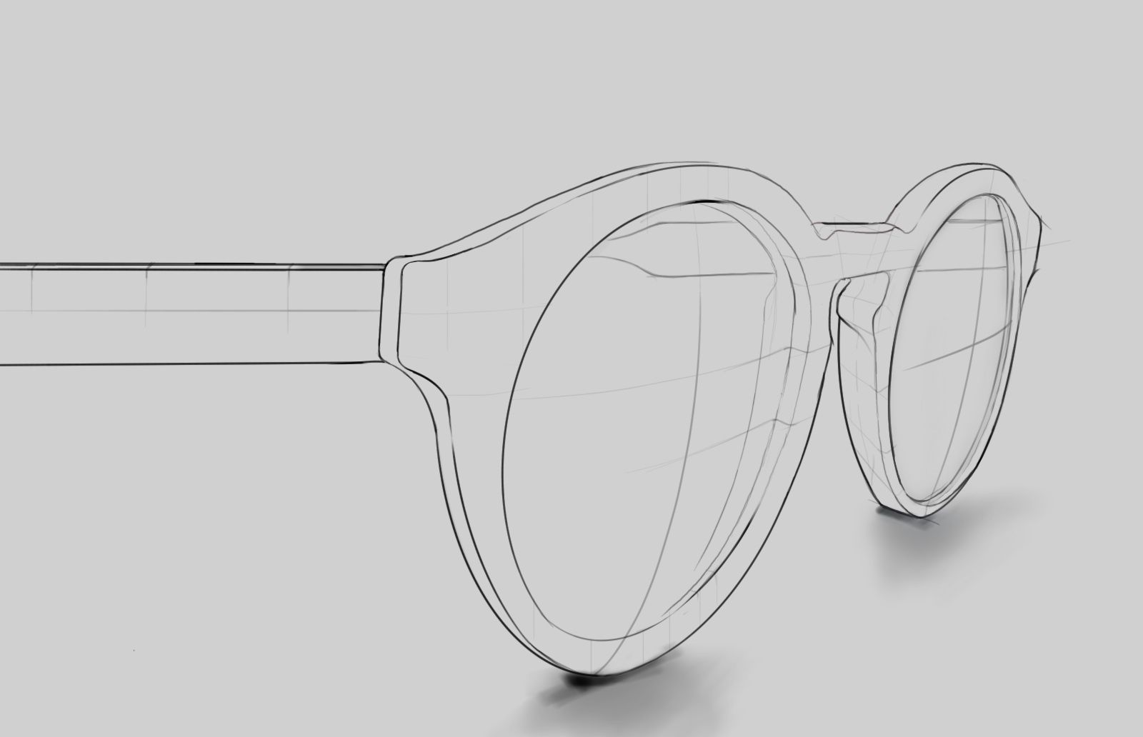 Sunglasses sketch