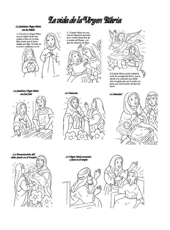 Resultado de imagen para fiestas marianas colorear | tunica facil ...