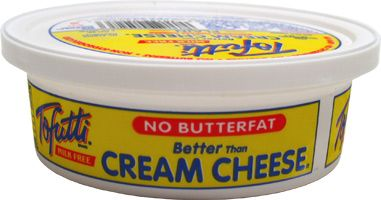 Vegan Substitutes Tofutti Dairy Free Cream Cheese