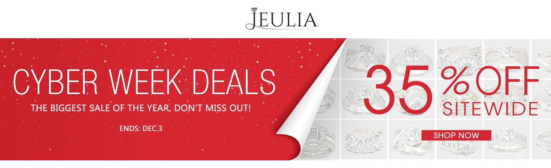 Jeulia Cyber Week Deals Get 35 Off Sitewide Flashsale Jewelery Womens Weekend Girls Fashion Jeulia Coupon Codes Promo Codes