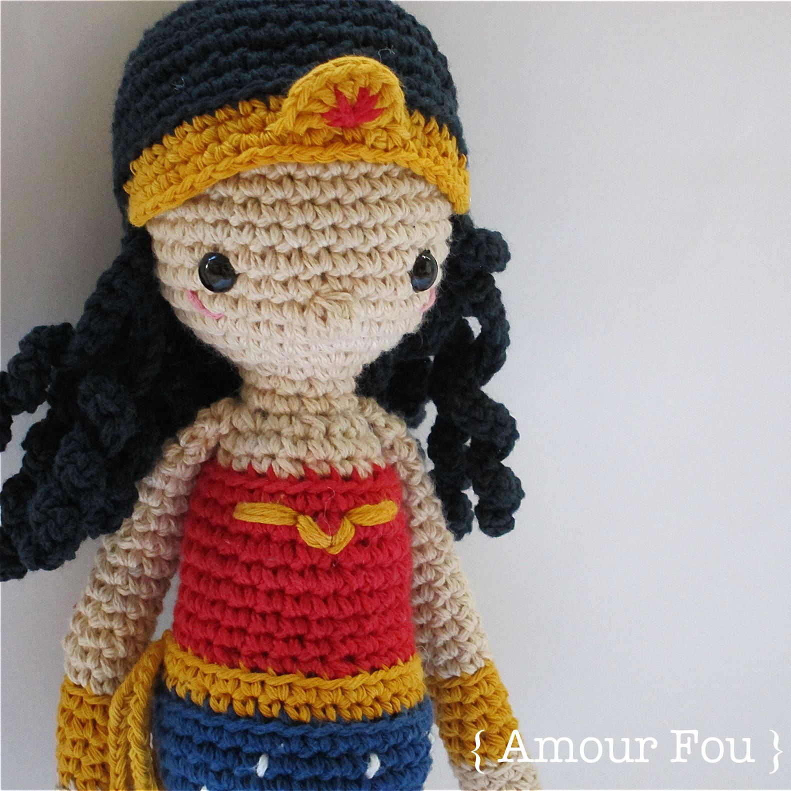 Wonder woman crochet pattern by amour fou amour fou wonder woman crochet pattern by amour fou bankloansurffo Choice Image