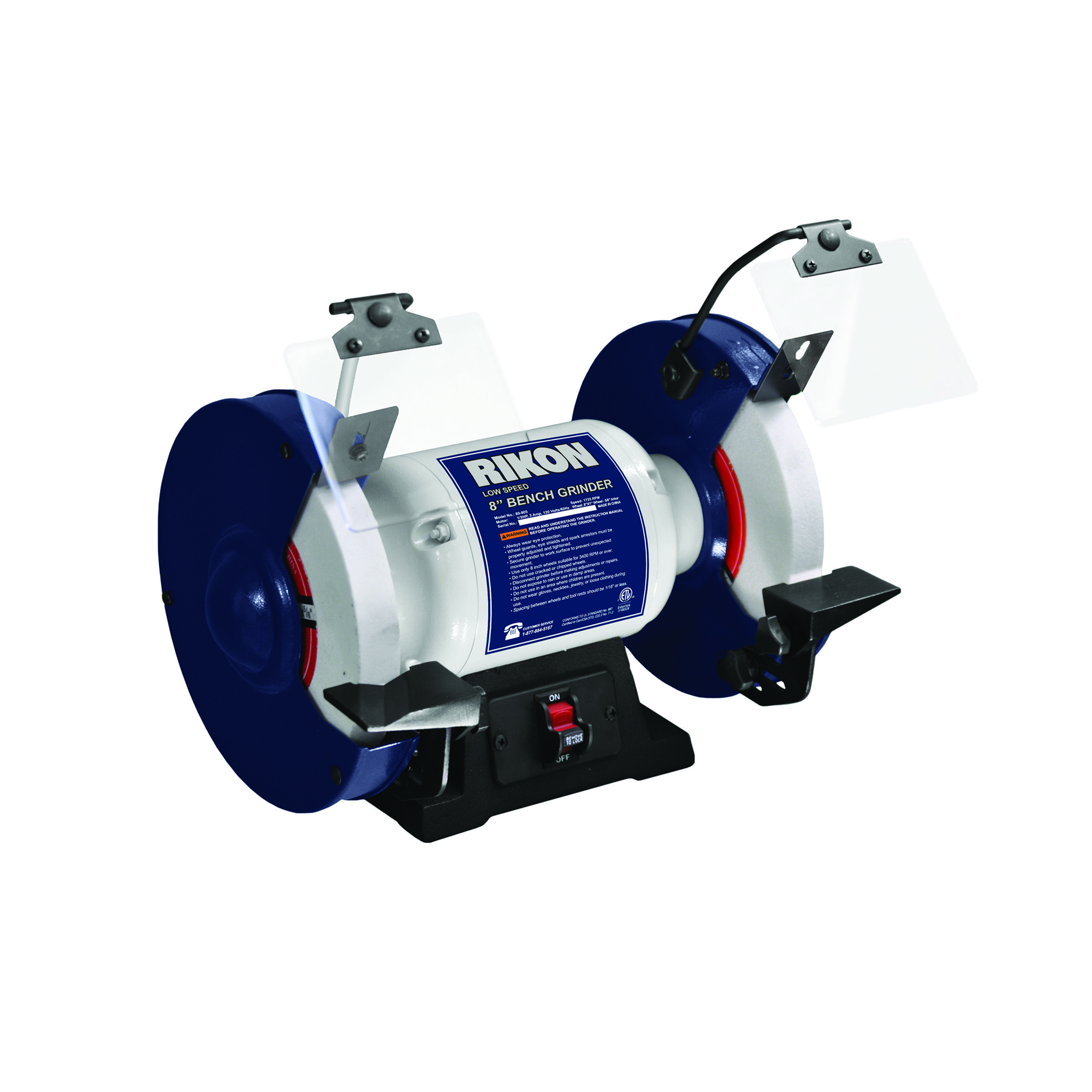 This Grinder Comes Equipped With Two 1 X 8 White Aluminum Oxide Grinding Wheels One 120 Grit Chest Woodworking Plans Electrical Hand Tools Woodworking Plans