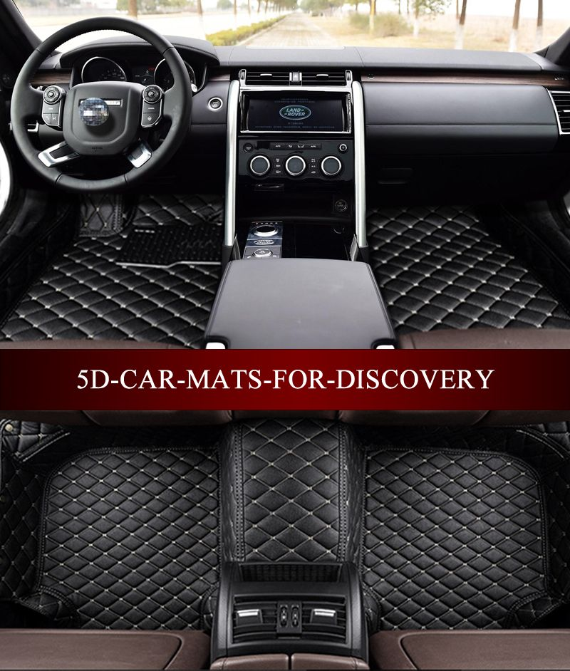 Car Floor Mats For Land Rover Discovery3 Discovery4 Sports 2006 2017 3d Custom Fit All Weather Carpet Floor Liners Foot Mats Car Floor Mats Land Rover Car