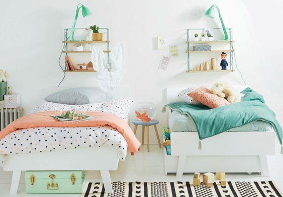 Habitaciones Infantiles Divertidas Habitaciones Infantiles Dormitorios Habitación Con Dos Camas