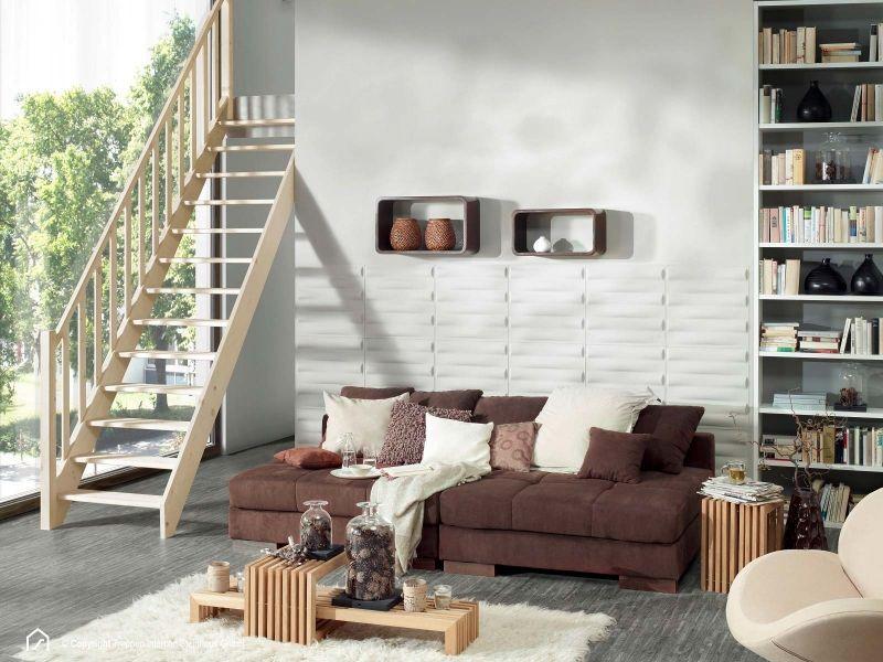 Massivholztreppe Fichte Wohnzimmer Haus deko, Außenmöbel
