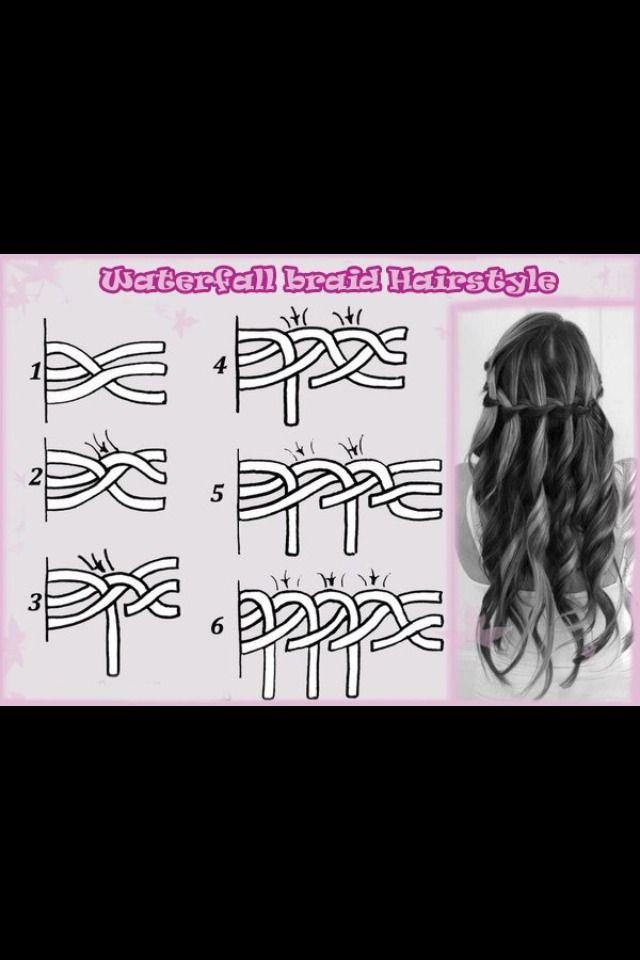 How To Do A Waterfall Braide #Fashion #Beauty #Trusper #Tip