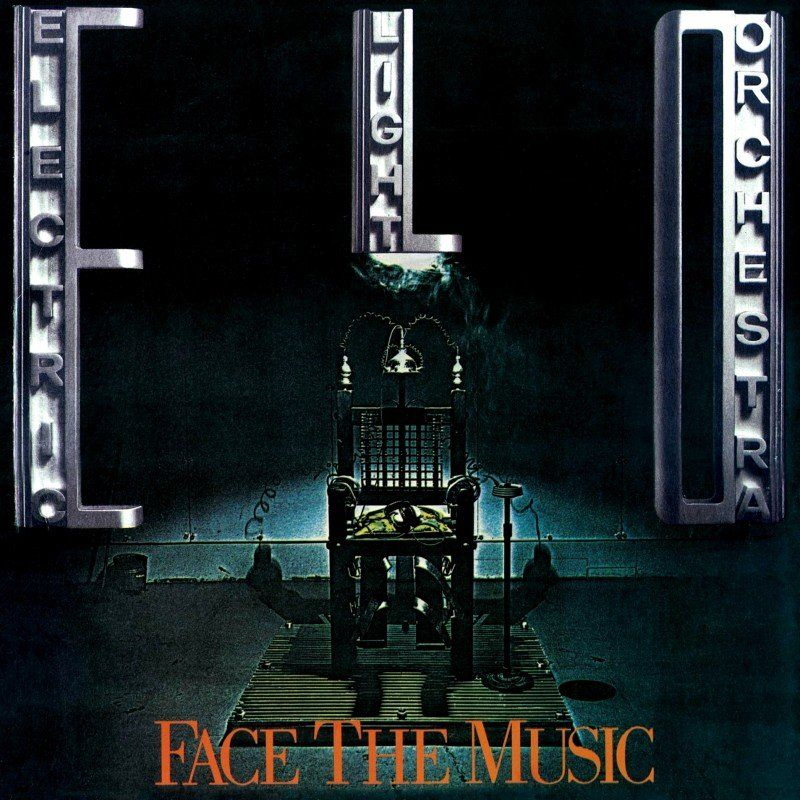 E.L.O. - Face The Music Album Cover | Face the music, Music album cover,  Orchestra