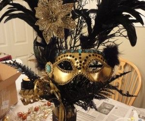 Table Decorations For Masquerade Ball Foto Of Masquerade Ball Table Decorations  Centro De Mesa