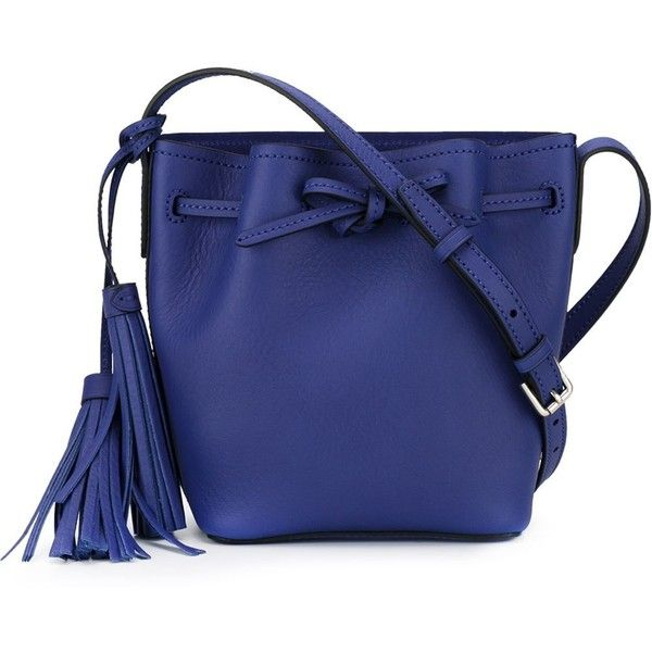 48846b2b0424 Polo Ralph Lauren Mini Bucket Bag ( 197) ❤ liked on Polyvore featuring  bags