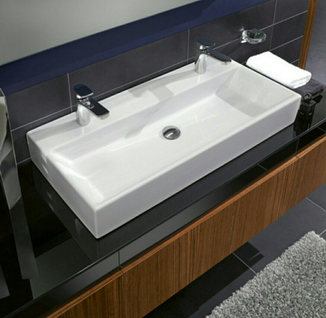 One Sink Two Faucet Contemporary