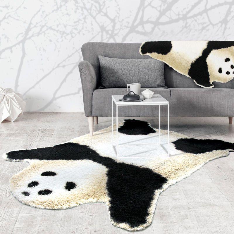 Kids Panda Bear Playmat Animal Panda Rug For Children Bedroom Playroom Living Room Playroom Kidsroom Decor Playroom Furniture