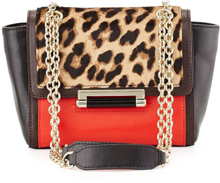 Diane von Furstenberg 440 Mini Mixed-Media Crossbody Bag 4bf8c8beb4239