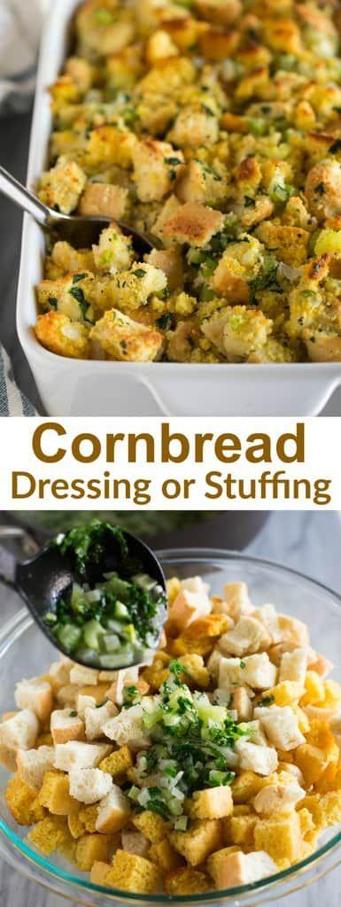 Cornbread Dressing #cornbreaddressing