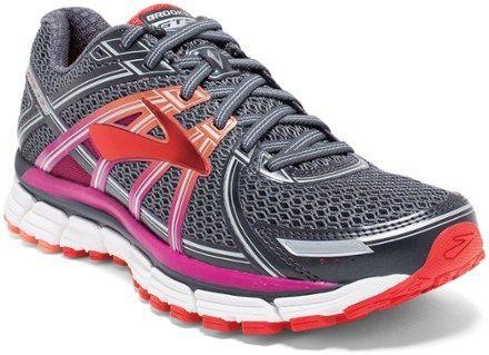 4133404b6e8c6 Brooks Adrenaline GTS 17 Road-Running Shoes - Women s. Color  Anthracite  Festival Fuchsia